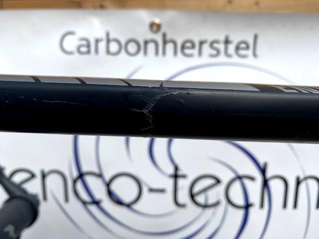 carbon schade: stuurinslag canyon endurance