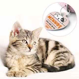 kedilere özel isimli kolye