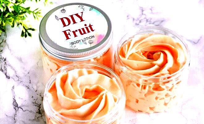 Make body lotion at home