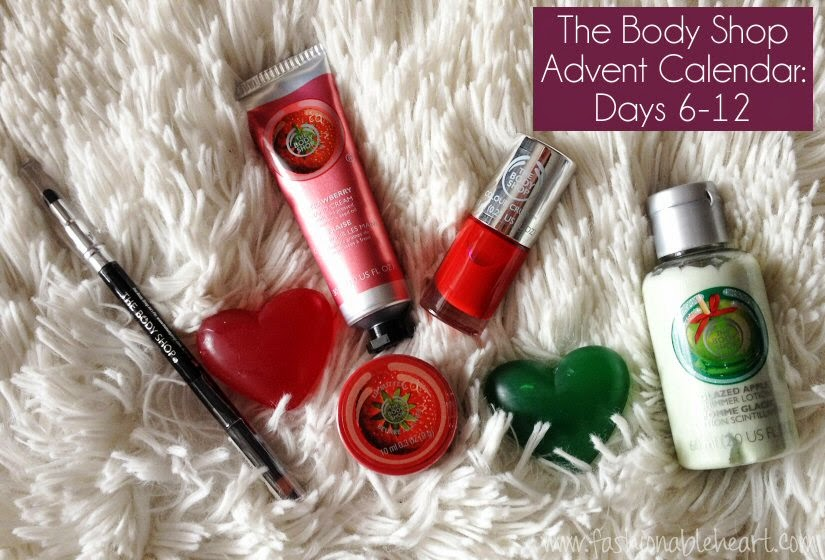 advent calendar body shop beauty bath