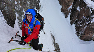 Winter mountaineering and guided winter climbing
