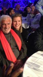 Steve Darcis' Girlfriend Dachouffe Lauranne