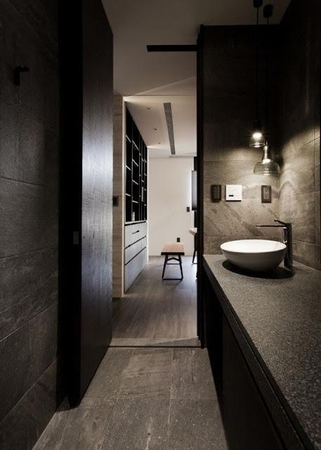 Hotel Bathroom Tiles Design