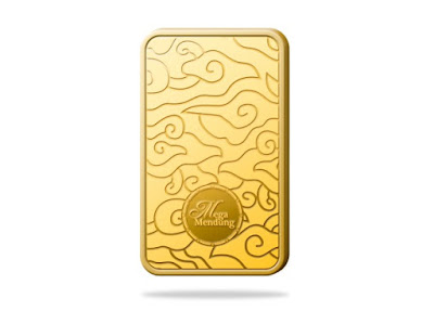 logam emas mulia motif batik jawa