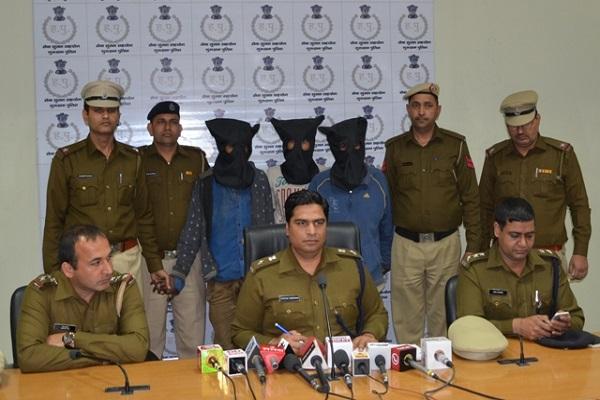 नाबालिग लड़की का अपहरण कर ह्त्या करने वालों को गुरुग्राम पुलिस ने दबोचा
