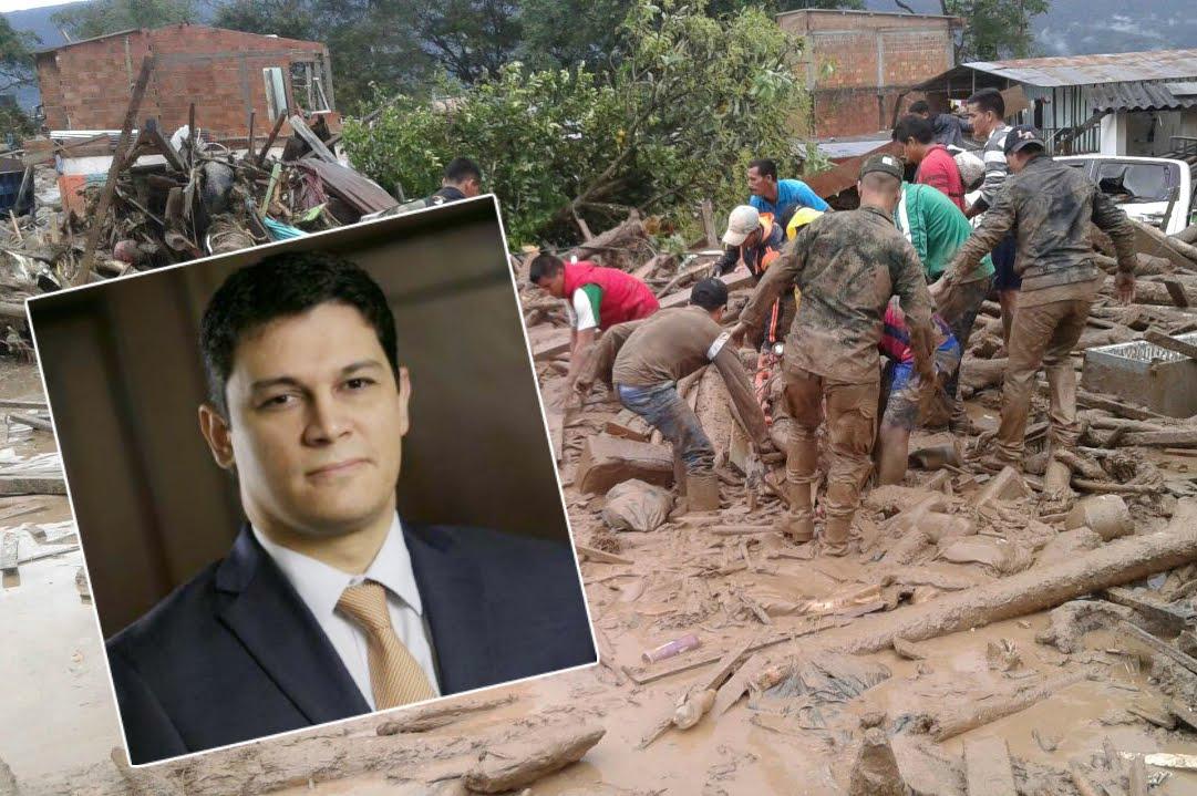 Senador del Centro Democrático había culpado a las Farc de tragedia en Mocoa