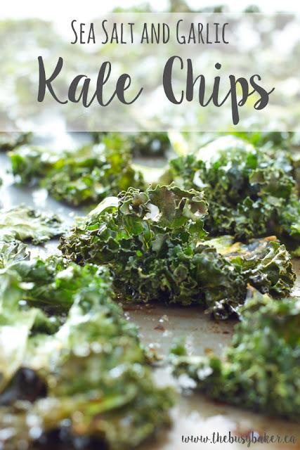 Sea Salt and Garlic Kale Chips