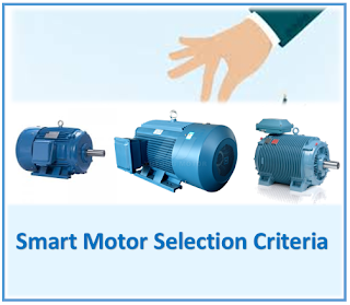 List of Fundamental motor selection criteria