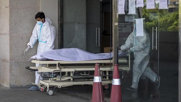 Corona Menggila, India Catat Rekor Kematian Lebih dari 3.600 Sehari