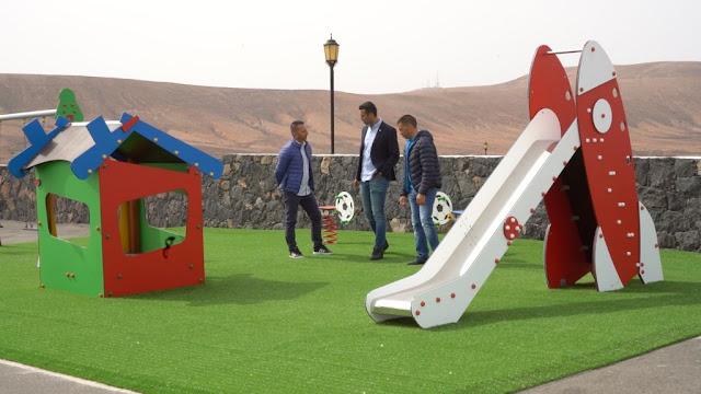 parque%2Binfantil%2Bcaldereta%2B%25283%2529 - Fuerteventura.- La Caldereta tiene  el parque infantil que demandaban los vecinos.  La Oliva anuncia la renovación completa de cuatro parques más en 2020
