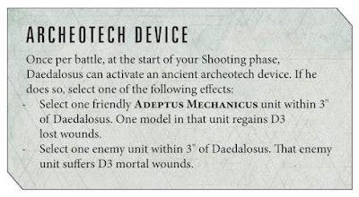 Reglas Daedalosus Tecnoarqueólogo