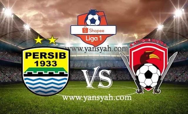 Hasil Pertandingan Liga 1, Persib Bandung vs Kalteng Putra