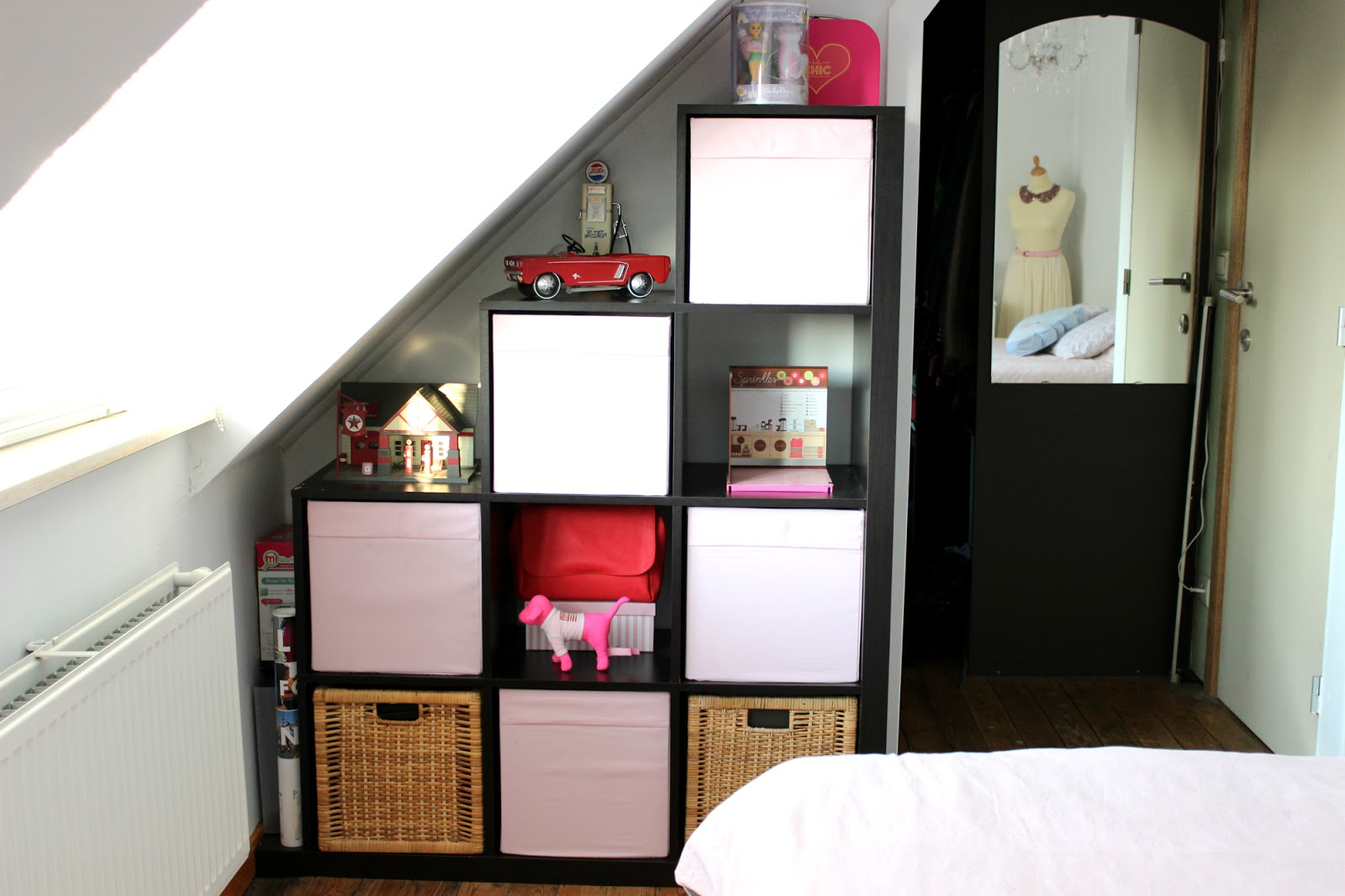 Bureau Expedit Sprinkles On A Cupcake: Bedroom Make-over