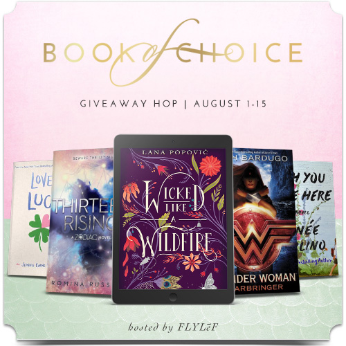 Book of Choice Giveaway