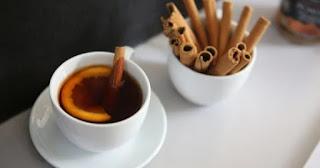 Chá Canela em pó