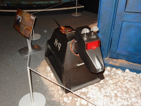 K9 MK2 Fourth Doctor Who prop