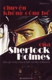 Chuyện Không Công Bố Của Sherlock Holmes - Enleri Kuin