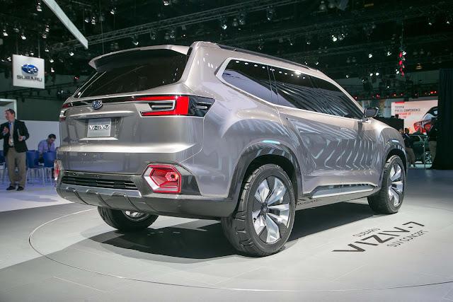 Mobil Subaru VIZIV-7 Review 2017