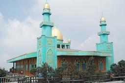 Masjid Jabal Nur,  Bersih dari Erupsi Abu Gunung Tangkuban Parahu