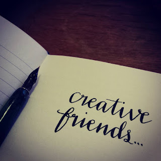 Alice Draws The Line : Creative Friends
