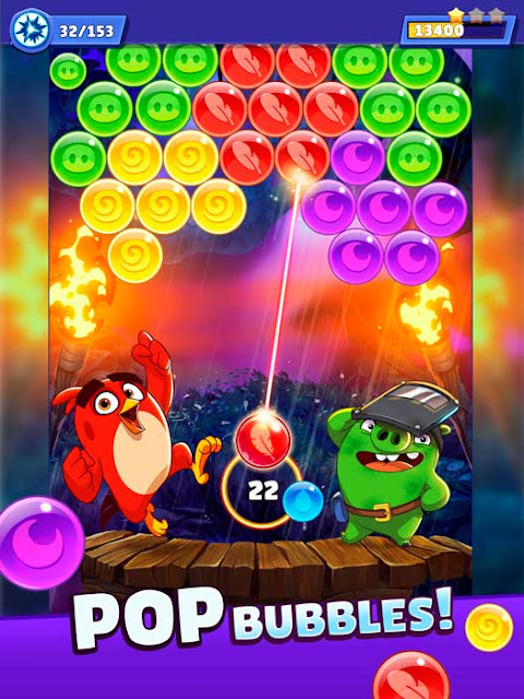 angry birds pop android ios