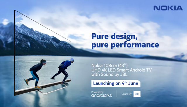 Nokia Smart TV Launched In India With 4K LED Pannel, JBL Audio, Dolby Vision & More