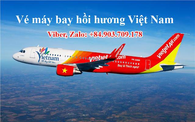 Vé máy bay từ Thái Lan về Việt Nam giá rẻ
