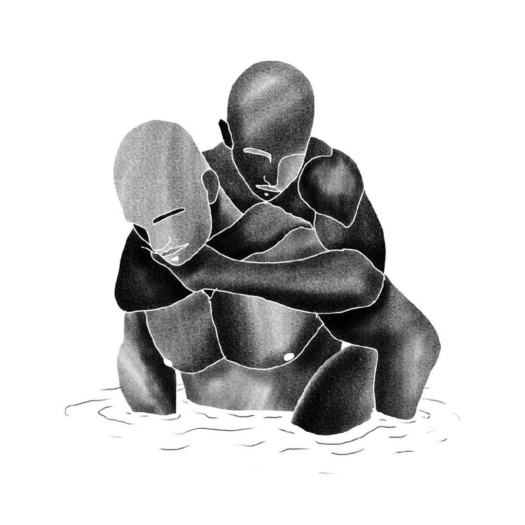 HuG, by Drawing from Day Dot.