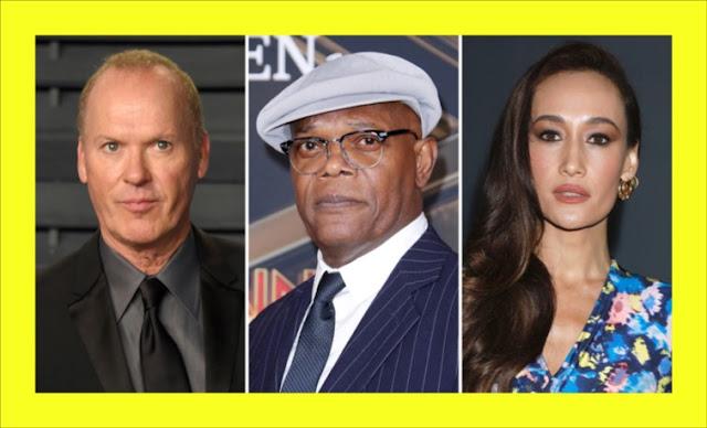"✅ MICHAEL KEATON, SAMUEL L. JACKSON Y MAGGIE Q juntos en el thriller ""THE ASSET"""