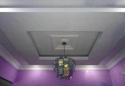 contoh model lampu plafon gantung terbaru