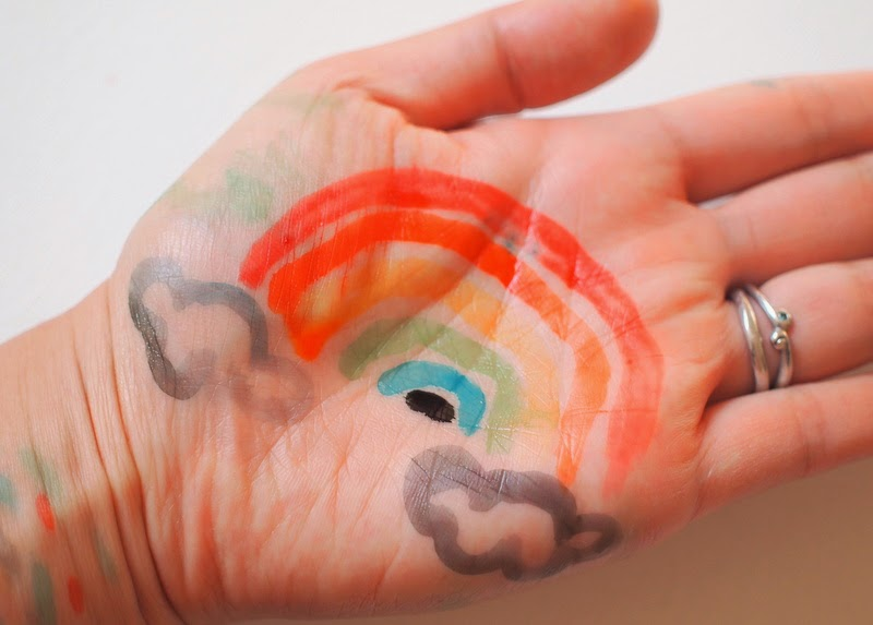 homemade body paint recipe