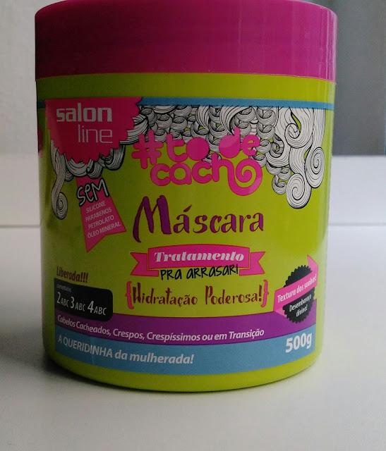 Mascara de Hidratação poderosa lançamento Salon Line/ Resenha
