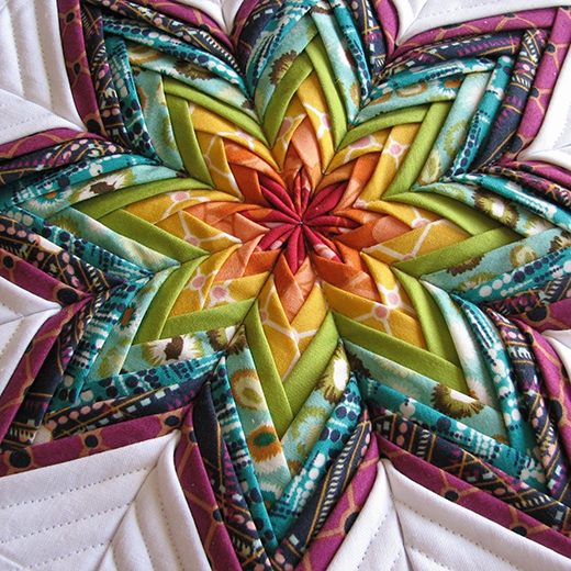 Folded Star Hot Pad Free Pattern designed by Sharon Holland of Sharon Holland Designs