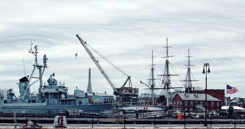 Charlestown Navy Yard Boston