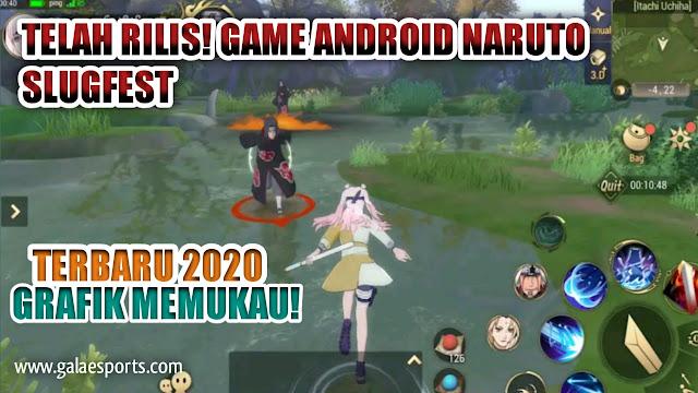 Rilis! Game Android Naruto Slugfest dengan grafik Memukau!