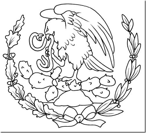 Laminas Para Colorear Coloring Pages Mapa Y Bandera De Mexico