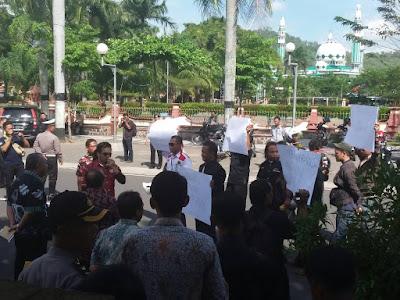 Pemkab Trenggalek Respon Positif Aksi Unjuk Rasa Wartawan dan Ormas