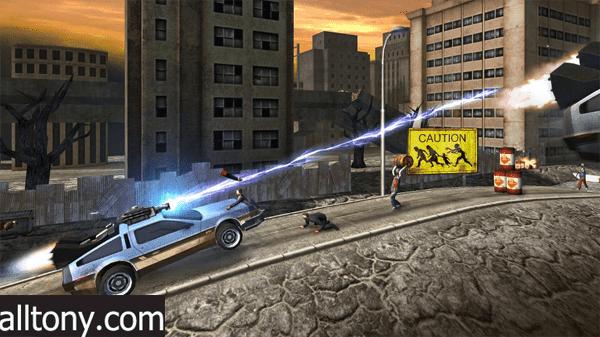 تحميل لعبة زومبي ديربي 2 لعبة السابق والقتال Zombie Derby 2 للأيفون والأندرويد