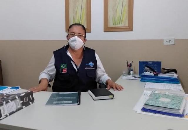 Secretária de Saúde de Amparo Verônica Rafael tem sido muito elogiada pela sua luta no Combate ao Coronavírus