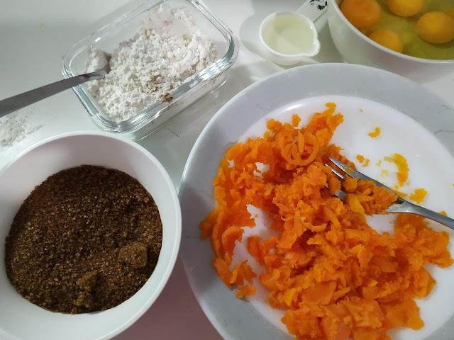 rollo de zanahoria