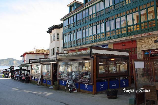 Restaurantes de Tazones, Asturias