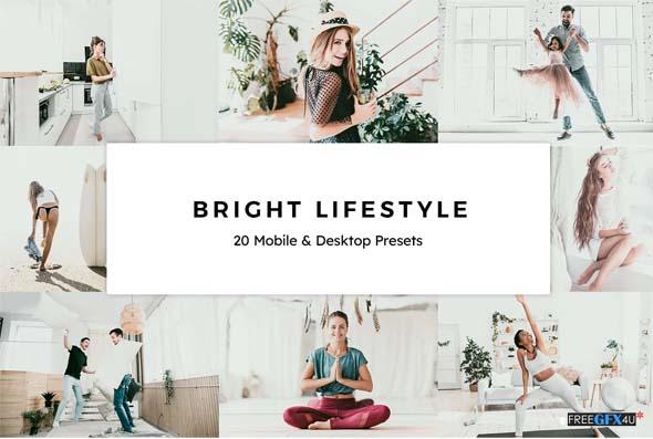 Bright Lifestyle LR Presets LUTs
