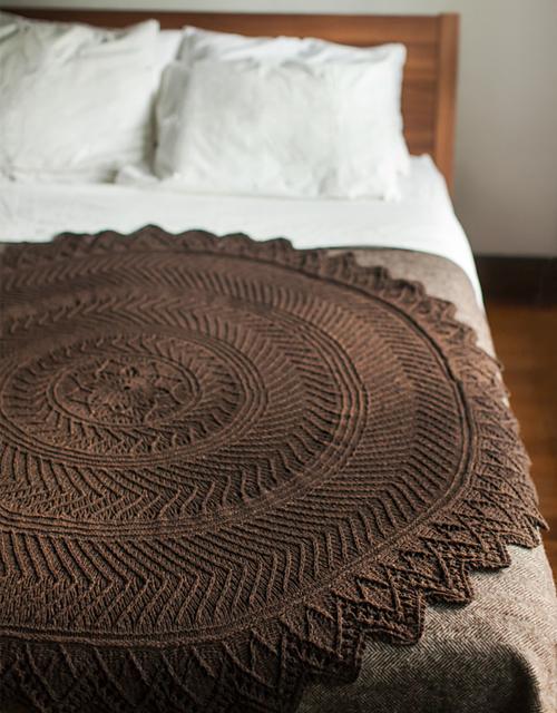Tree Rings - Knitting Pattern