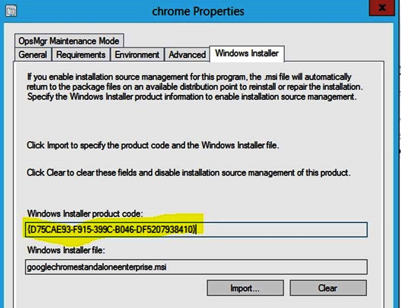 ConfigMgr 2012: ConfigMgr with Smart Windows Installer