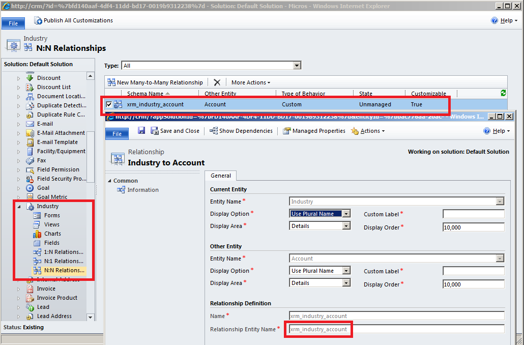 MS CRM 2011: N-N Relationship control: checklistbox style – Andrew