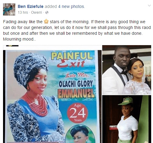 SHOCKING | See How This Lady Died after She Was Abandoned by the Rich Guy She Married For This Reason (photos)