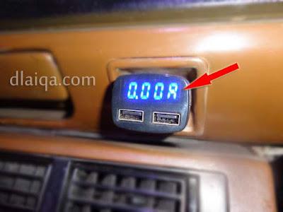 petunjuk ampere meter