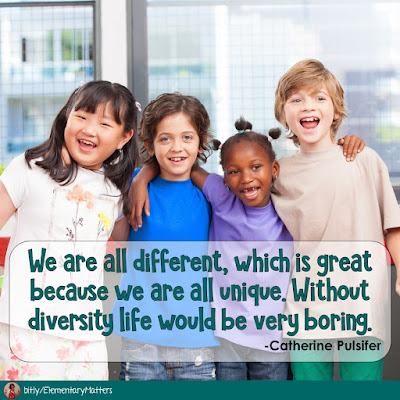 Diversity Matters: Celebrating Our Differences!  We have a few big celebrations of diversity in our calendar, but seriously, we should be celebrating diversity and embracing our differences every single day!