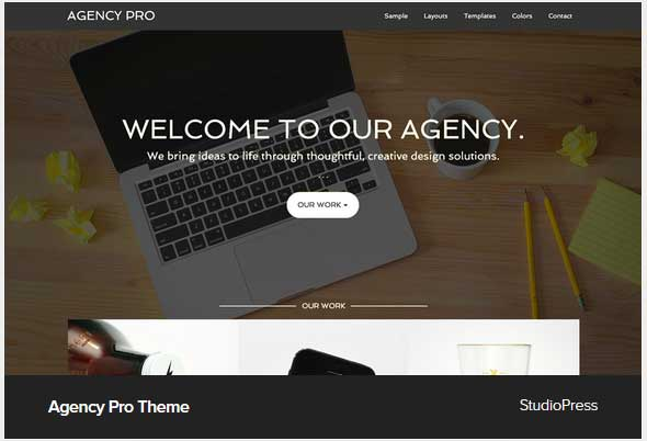 Agency pro theme Award Winning Pro Themes for Wordpress Blog : Award Winning Blog