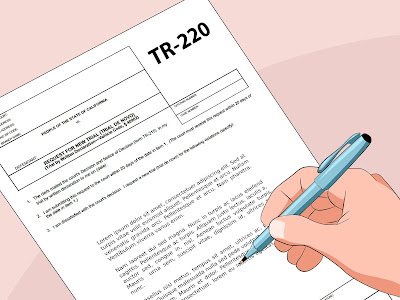 trial by written declaration form